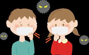 新型コロナウイルス(新型肺炎を予防)から身を守ろう!!